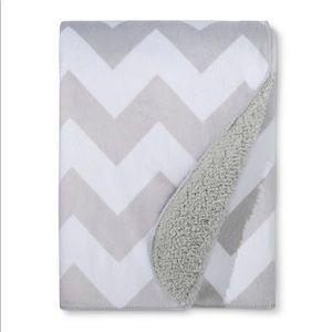 Other - Plush Velboa Baby Blanket